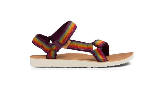 Teva Original Universal Ombre sandalen Dames violet/bont
